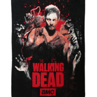 The Walking Dead Daryl Fleece Throw