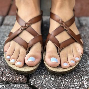 Get To You Sandals - Tan