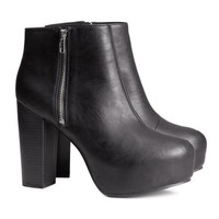 Platform Ankle Boots - from H&M