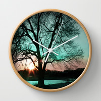 :: There's Always Tomorrow :: Wall Clock by GaleStorm Artworks