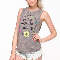 JUST GO WITH THE FLOW ACID WASH TANK