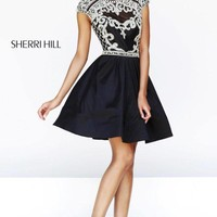 Sherri Hill 4300 Black 0