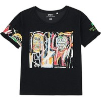 WOMEN SPRZ NY SHORT SLEEVE T-SHIRT (JEAN-MICHEL BASQUIAT) | UNIQLO