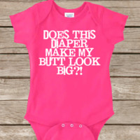 BIG BUTT BIG FUNNY BABY Onesuit CUTE BABY STUFF BABY CLOTHES CUSTOM BABY CLOTHES halloween outfit TODDLERS BABY GIFTS BABY SHOWER