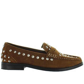 Musse & Cloud Allen - Cue Suede Studded Penny Loafer