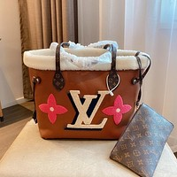 Louis Vuitton LV new style foreign fashion all-match shopping bag simple one-shoulder handbag