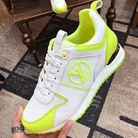 Louis Vuitton LV Run Away Sneaker Contrast Shoes White camouflage