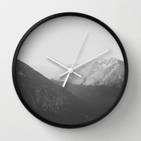 First Light Wall Clock by Luke Gram