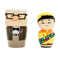 Carl Fredricksen and Russell Wooden Collectibles - Limited Edition