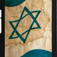 GrabYourDesign - Case for Iphone 7/7S Israeli Flag in Vintage - by pASob