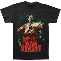 Texas Chainsaw Massacre Men's  Leatherface T-shirt Black