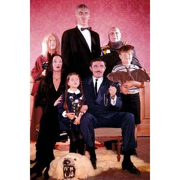Addams Family Tv Puzzle 300 Piece Jigsaw Puzzle