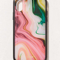 Sonix Luxe Marble Agate iPhone X Case | Urban Outfitters