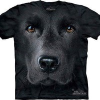 Big Face Black Lab T-Shirt