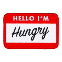 """""""Hello I'm Hungry"""" Patch"""
