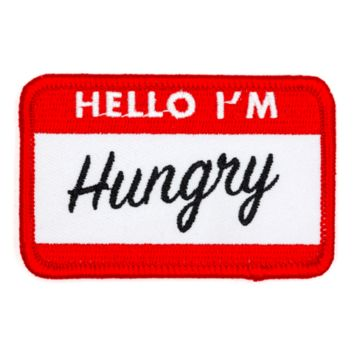"""Hello I'm Hungry"" Patch"