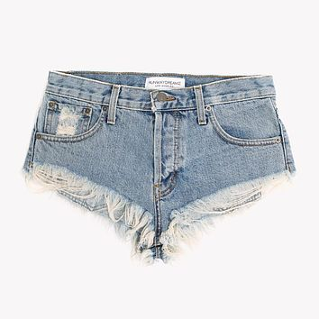 Classic Major Babe Mini Cut Off Shorts