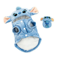 Cartoon Stitch Dog Clothes Pet Jacket Coat Puppy Cat Costumes Apparel Winter