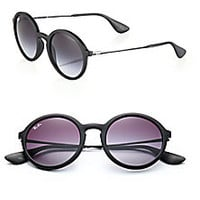 Ray-Ban - 56MM Round Sunglasses - Saks Fifth Avenue Mobile