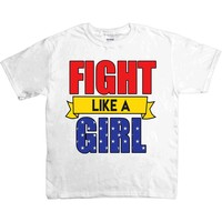 Fight Like A Girl -- Youth/Toddler T-Shirt