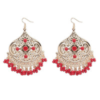 Irregular Bohemia Tassels Earrings [4920480516]