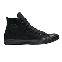 Converse All Star Hi Triple Black Monochrome M3310 Hi Top Womens Shoes
