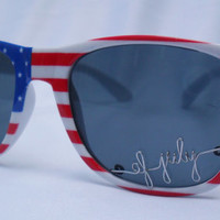 4th of July Personalized Sunglasses