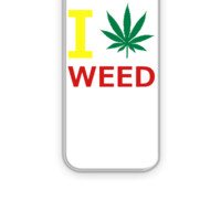 i love weed - iPhone 5&5s Case