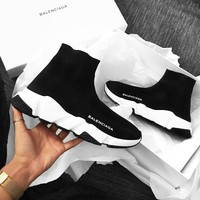 Balenciaga Woman Men Breathable Sneakers Running Shoes