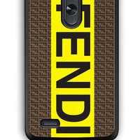 LG G3 Case - Hard (PC) Cover with fendi logo Plastic Case Design