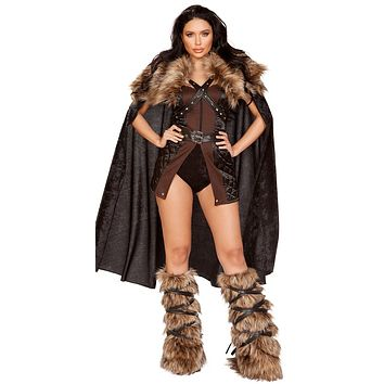 Sexy For the North Viking Warrior Dress Costume