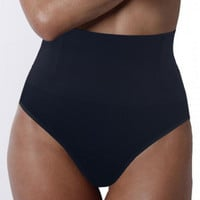 Black High Waisted Panty Shaper
