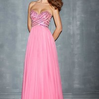 Night Moves Dress 7006 at Peaches Boutique