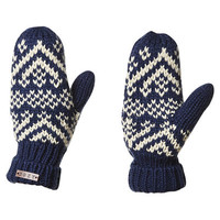 ROXY ANNA MITTENS - DRESS BLUE