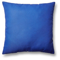 Sagi 20x20 Outdoor Pillow, Dark Blue, Decorative Pillows
