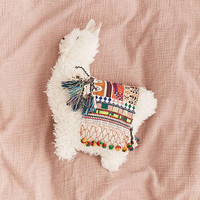 Furry Llama Pillow | Urban Outfitters