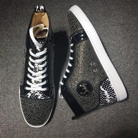 Christian Louboutin CL Style #2134 Sneakers Fashion Shoes Online