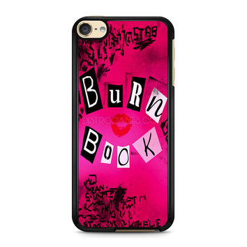 iPod Touch 4 5 6 case, iPhone 6 6s 5s 5c 4s Cases, Samsung Galaxy Case, HTC One case, Sony Xperia case, LG case, Nexus case, iPad case, Mean girl burn Book Cases