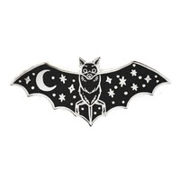 Creature Of The Night Bat Pin