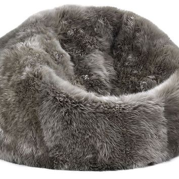 Sheepskin Bean Bag in Vole