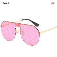 Fendi New fashion letter polarized couple glasses eyeglasses 4#