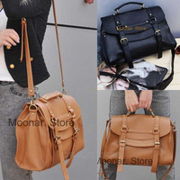 Fashion Britpop Women's PU Leather Purse Handbag Messenger Satchel Shoulder Bag = 1932403012