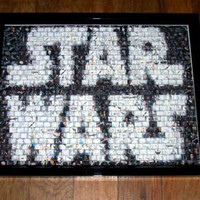 Amazing Star Wars Framed Montage display 1 of only 25