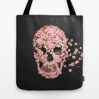 A Beautiful Death Tote Bag by Terry Fan