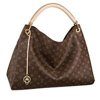 ONETOW Tagre? Louis Vuitton Monogram Canvas Artsy MM Handbag Article:M40249 Made in France Louis Vuitton Bag