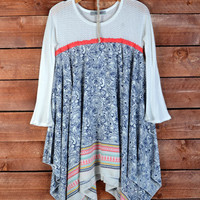 Avery Printed Blouse