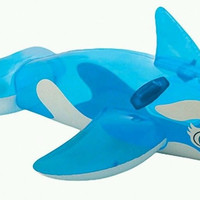 Lil Whale Pool Ride-On Kids Inflatable Intex Swimming Float Raft New