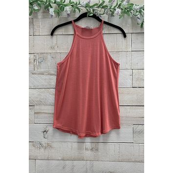Rosey Tank- Coral