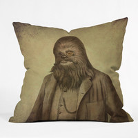 DENY Designs Home Accessories | Terry Fan Chancellor Chewie Throw Pillow