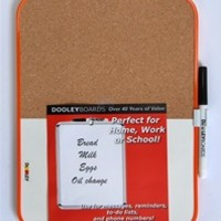 Combination Cork and Dry Erase Board small sized dorm essential for dorm decor and purposeful usage on your dorm room wall cheap dorm stuff